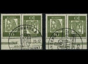 Berlin, K3 mit HAN 415255.1 und 2, gestempelt, Mi. 200,- (0414)