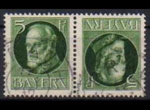 Bayern, Zd. K 3, gestempelt, gepr. Infla, Mi. 15,- (0561)