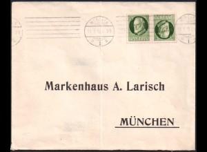 Bayern, K 3, Einzelfrankatur auf Ortsbrief (0715)