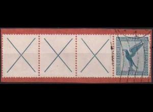Dt. Reich, W 21.3, gestempelt auf Briefstück, Mi. 180,- (0774)