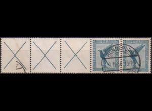 Dt. Reich, W 21.2, gestempelt, Mi. 150,- (0775)