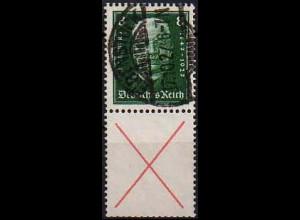 Dt. Reich, S 37, gestempelt, ungeknickt, gepr. BPP, Mi. 150,- (0842)
