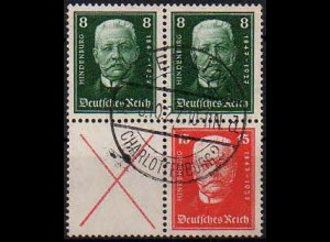 Dt. Reich, S 36 + 37, gestempelt, vollst. Zähnung, Mi. 190,- (0848)