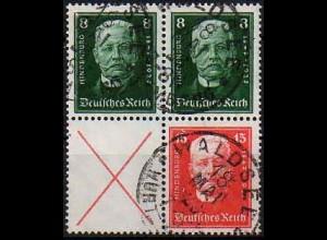 Dt. Reich, S 36 + 37, gestempelt, vollst. Zähnung, Mi. 190,- (0850)