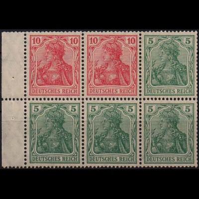 Dt. Reich, HBl. 23 aa A, postfrisch, farbgeprüft, Mi. 100,- (0909)