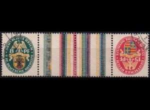 Dt. Reich, KZ 10, gestempelt, Mi. 60,- (0993)