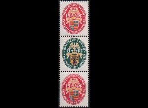Dt. Reich, S 53, Falz/Falzspur, Mi. 24,- + (1005)