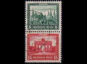 Dt. Reich, S 76, gestempelt, vollständige Zähnung, Mi. 15,- (1066)