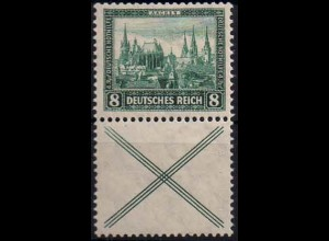 Dt. Reich, S 80, Falz/Falzspur, Mi.-Handbuch (1075)