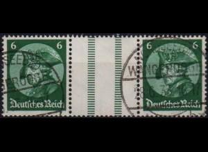 Dt. Reich, WZ 9, gestempelt, ungeknickt, Mi. 50,- (1196)