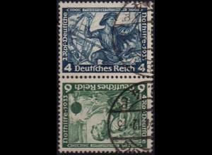 Dt. Reich, SK 19, gestempelt, ungeknickt, Mi. 100,- (1260)