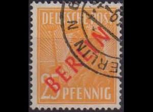 Berlin, Mi. 27, gestempelt, gepr. BPP, Mi. 55,-