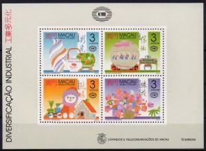 Macau, Block 14 (1990), postfrisch, Mi. 50,-