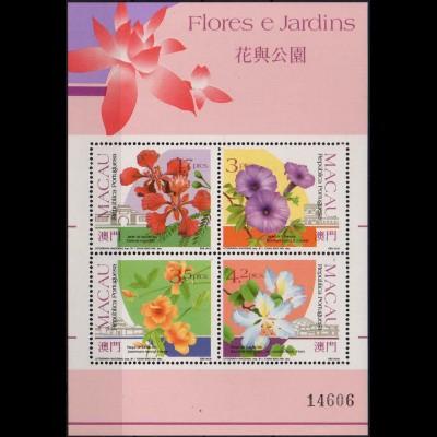 Macau, Block 17 (1991), postfrisch, Mi. 80,- (1441)