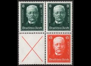 Dt. Reich, S 36 + 37, postfrisch, vollst. Zähnung, Mi. 240,- + 100% (1687)
