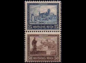 Dt. Reich, Bl S 2, Block-Zd. postfrisch, ungeknickt, Mi.-Handbuch 250,- (1745)