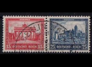 Dt. Reich, Bl W 2, Block-Zd. mit Sonderstempel, Mi.-Handbuch 300,- (1753)