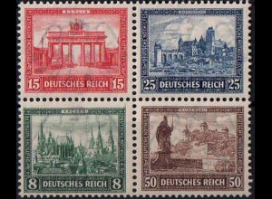 Dt. Reich, Bl Hz 1, Block-Zd. postfrisch, nicht angetrennt, Mi. 500,- (1759)