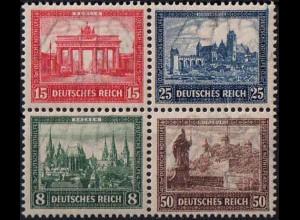 Dt. Reich, Bl Hz 1, Block-Zd. postfrisch, ungeknickt, Mi.-Handbuch 500,- (1760)