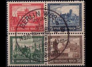 Dt. Reich, Bl Hz 1, Block-Zd., gepr. BPP, Mi.-Handbuch 600,- (1774)
