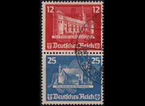 Dt. Reich, Bl S 4, Block-Zd. mit Ersttags-SST, Mi.-Handbuch 180,- (1808)
