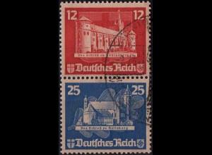 Dt. Reich, Bl S 4, Block-Zd. mit Sonderstempel, Mi.-Handbuch 180,- (1809)