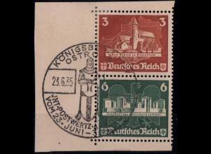 Dt. Reich, Bl S 3, Block-Zd. mit Ersttags-SST,Mi.-Handbuch 180,- (1824)