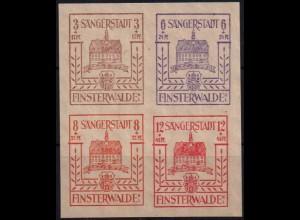 Finsterwalde, Bl Hz 1, Block-Zd. postfrisch, Mi. 40,- ++