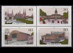 Berlin, Bl Hz 4 PF I, mit Plattenfehler, postfrisch, Mi. 45,- +