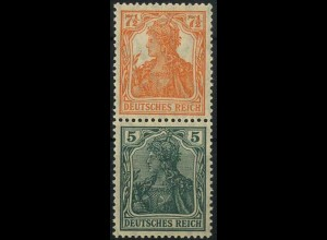 Dt. Reich, S 3 ab, ungebr., vollst. Zähnung, gepr. BPP, Mi. 24,- (2187)