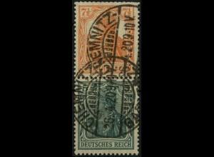 Dt. Reich, S 3 ab, gestempelt, gepr. BPP, Mi. 30,- (2193)