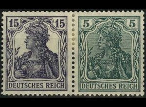Dt. Reich, W 9 aa, Falz, gepr. BPP, Mi. 300,- (2202)