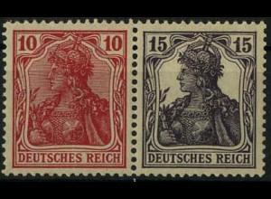 Dt. Reich, W 12 ab, ungebr., vollst. Zähn., gepr. BPP, Mi. 60,- (2210)