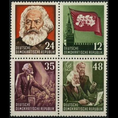 DDR, Bl VB 2 A YI PF II, Block-Zd. mit Plattenf., gepr. BPP, Mi. 170,- (2314)