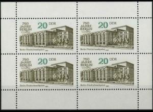 DDR, Klb 3078 A PF I, mit Plattenfehler, postfrisch, Mi. 120,-