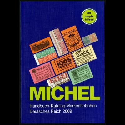 Michel-Handbuch 'Markenheftchen Dt. Reich', 2009, Neupreis 98,- (2586)