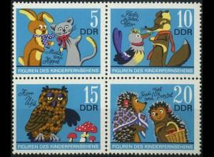 DDR, Klb-VB 21 PF I, Zd. mit Plattenfehler, postfrisch, Mi. 70,-