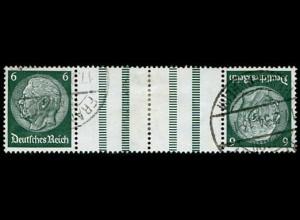 Dt. Reich, KZ 18, gestempelt, Mi. 60,- (2779)