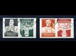 Dt. Reich, K 23 + K 24, gestempelt auf Briefstück, Mi. 50,- (2805)