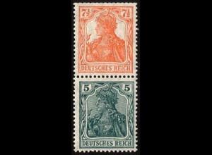 Dt. Reich, S 3 ab, postfrisch, ungeknickt, Mi. 40,- (2814)