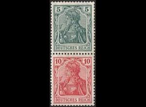 Dt. Reich, S 4 I ab, ungebraucht, vollständige Zähnung, Mi.-Handbuch 36,- (2816)