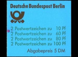 Berlin, MH 15 mZ, postfrisch, Mi. 110,-