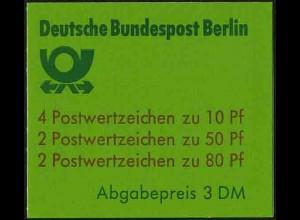 Berlin, MH 14, tadellos postfrisch, Mi. 28,-