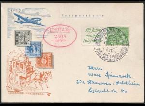 Berlin, W 9 auf FDC, gepr. BPP, Mi. 160,- (3169)