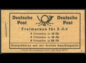 All. Bes., MH 50 RLV XIV, postfrisch, Mi. 80,-