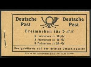 All. Bes., MH 50 RLV XXXII, postfr., mit Klammer-Abart, Mii. 80,-