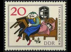 DDR, 1238 I, mit Plattenfehler, postfrisch, Mi. 30,-