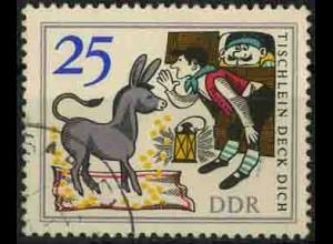 DDR, 1239 PF 2, mit Plattenfehler, gestempelt, Mi. (60,-)