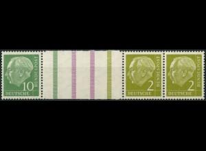 Bund, WZ 6, tadellos postfrisch, ungeknickt, Mi. 40,- (3562)
