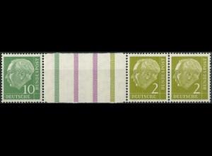 Bund, WZ 6, postfrisch, nicht angetrennt, Mi. 40,- (3830)